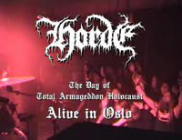 HORDE - First gig ever!