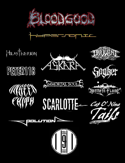 Metal Festival with Bloodgood,Immortal Souls, Hilastherion, Northern Flame, Hypersonic and many more!